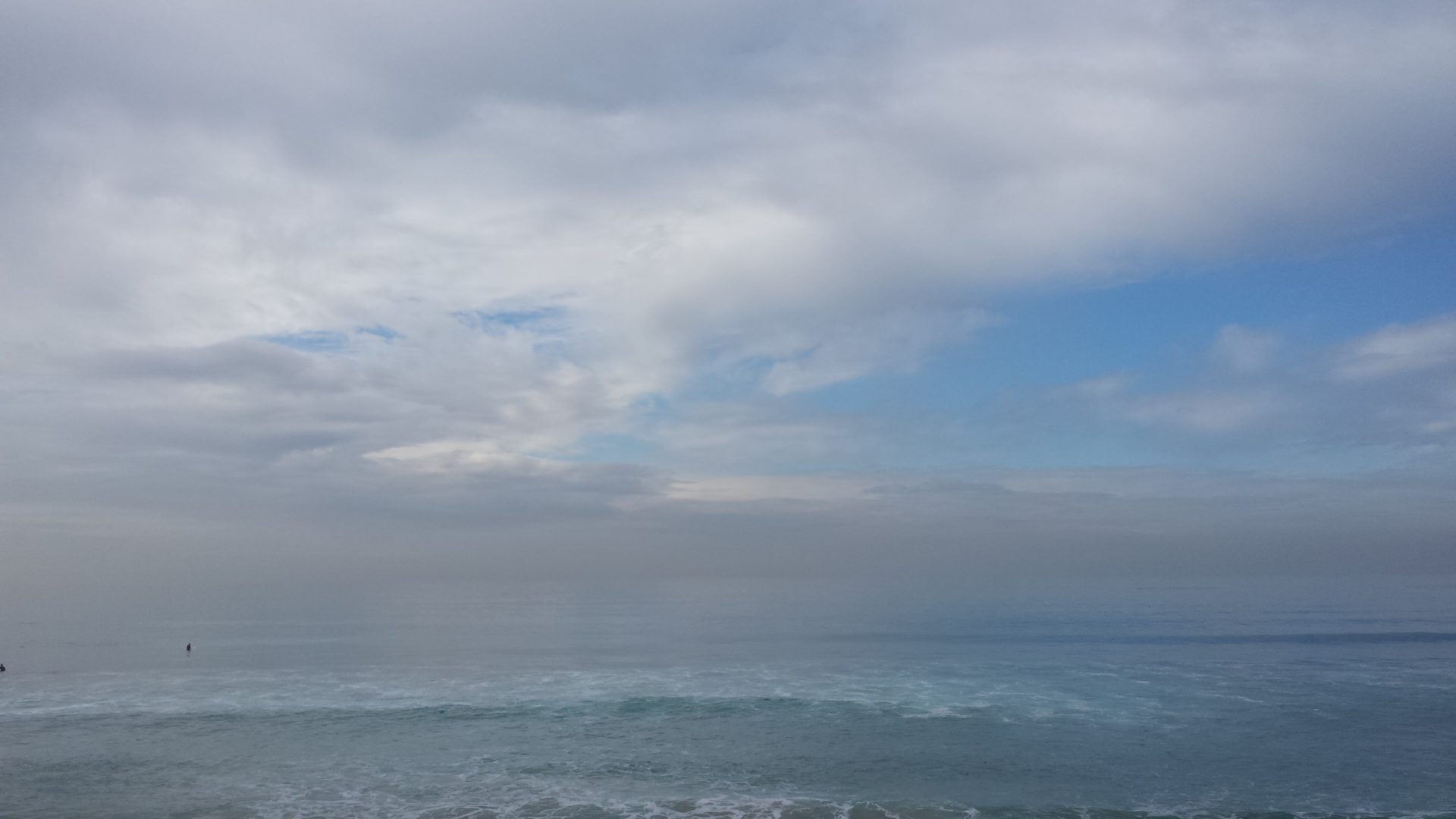 Another fogged horizon