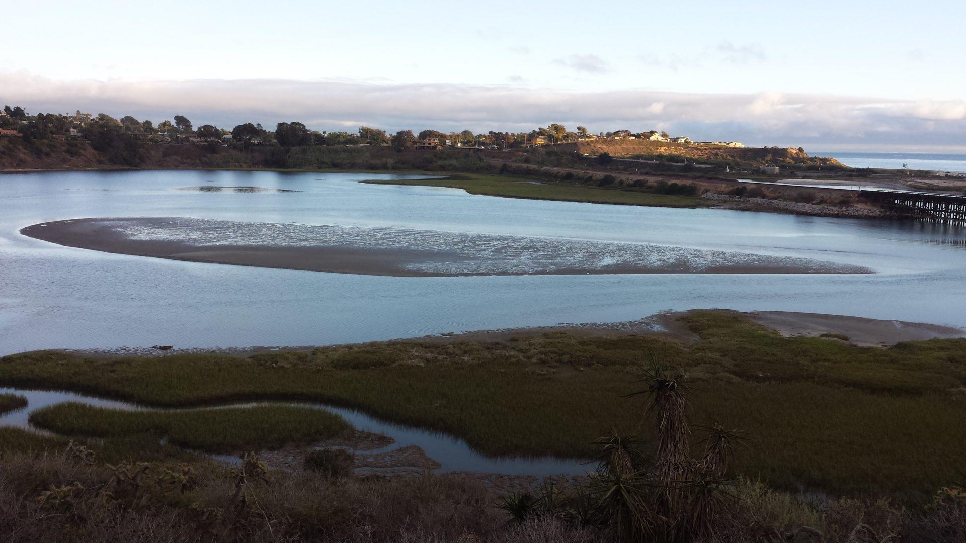 Lagoon at Dusk