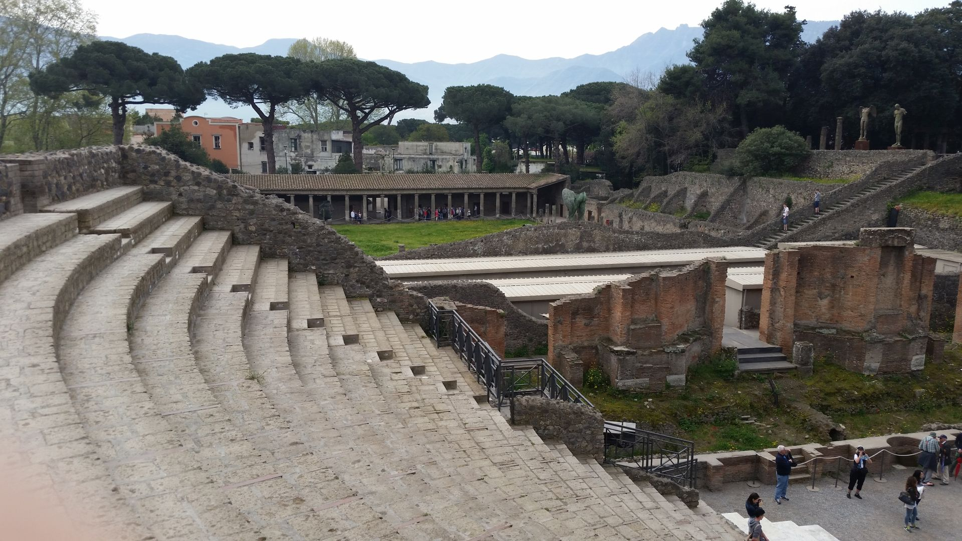 Theater in Pompeii