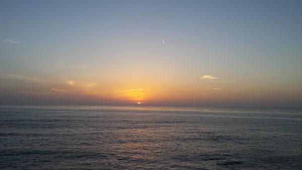 The same sun, the same ocean, the same sky