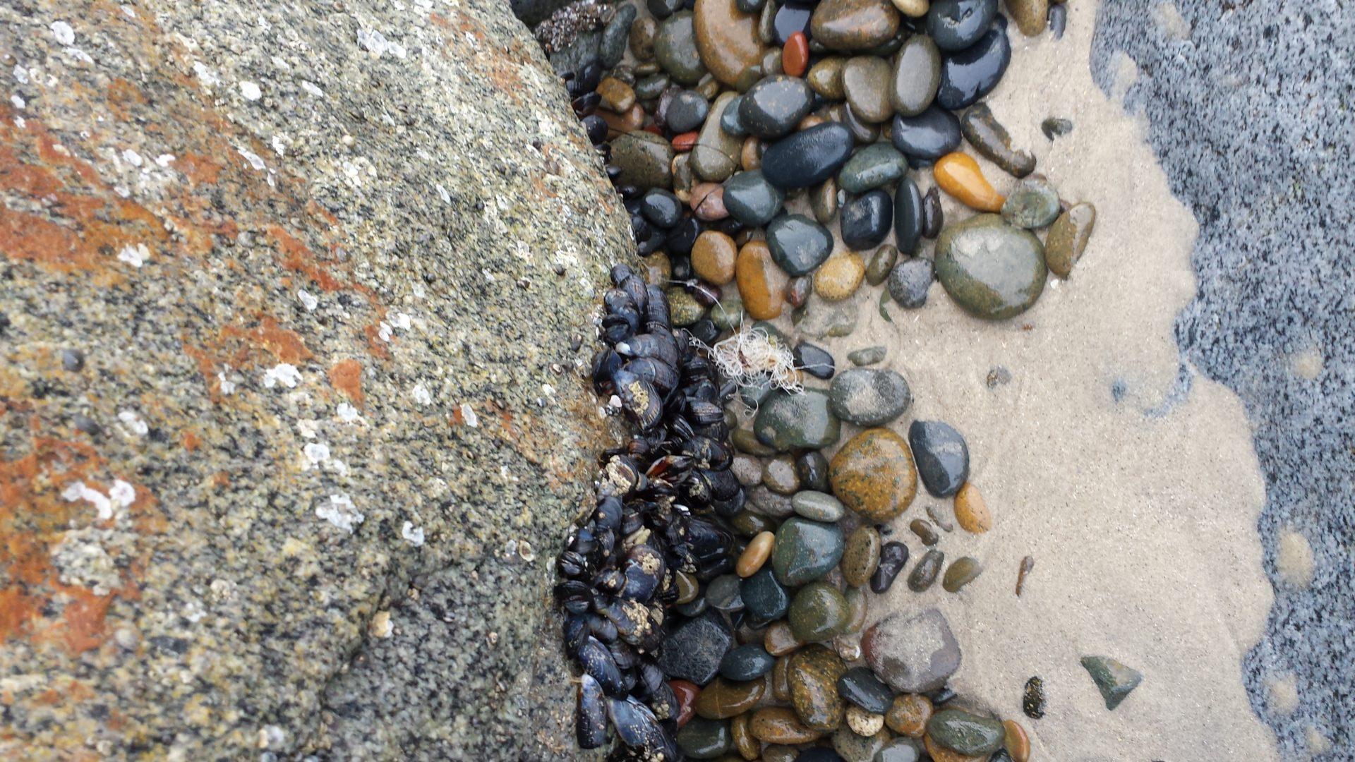 Rock, stone, sand