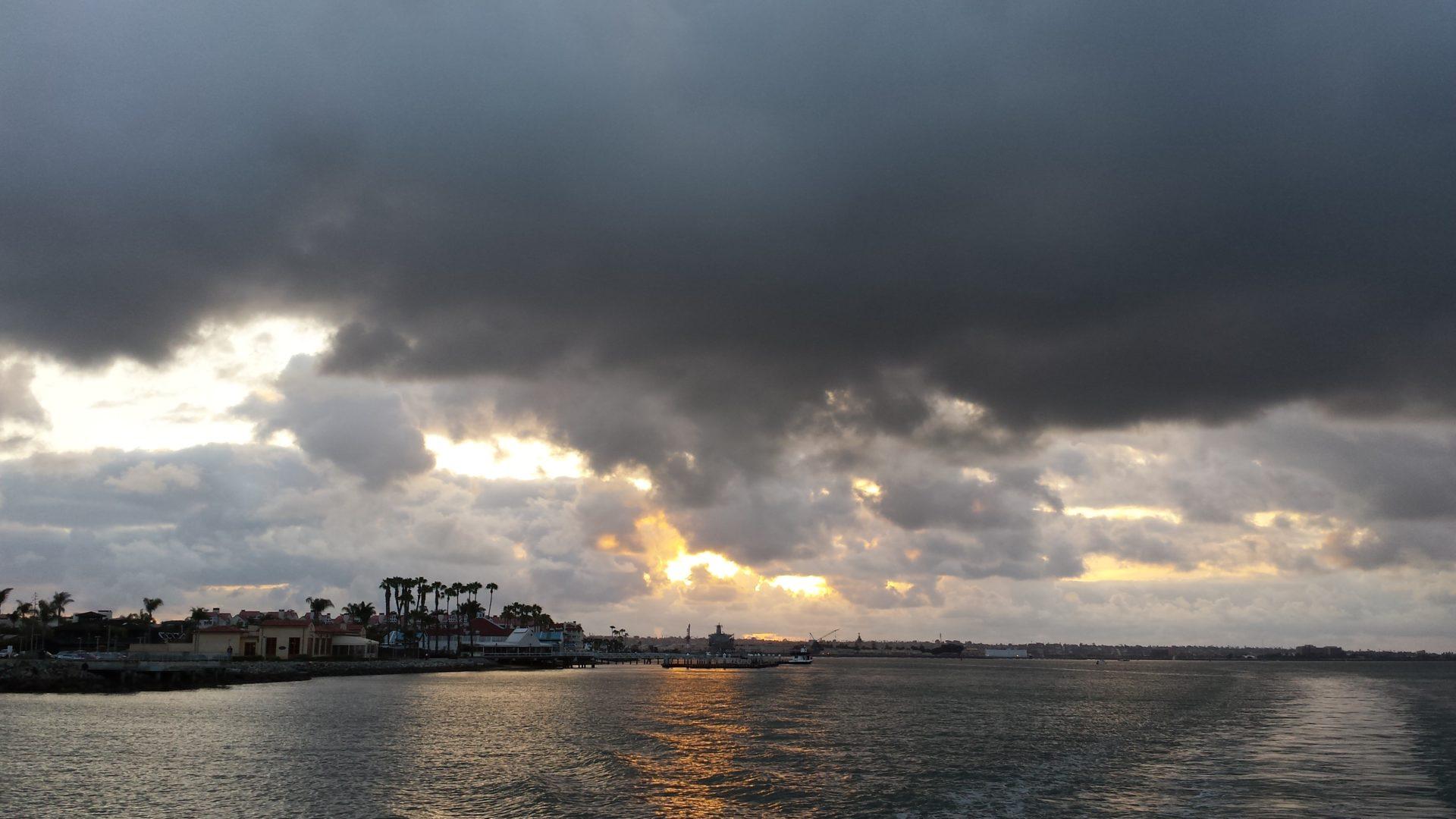 San Diego Harbor/Sky
