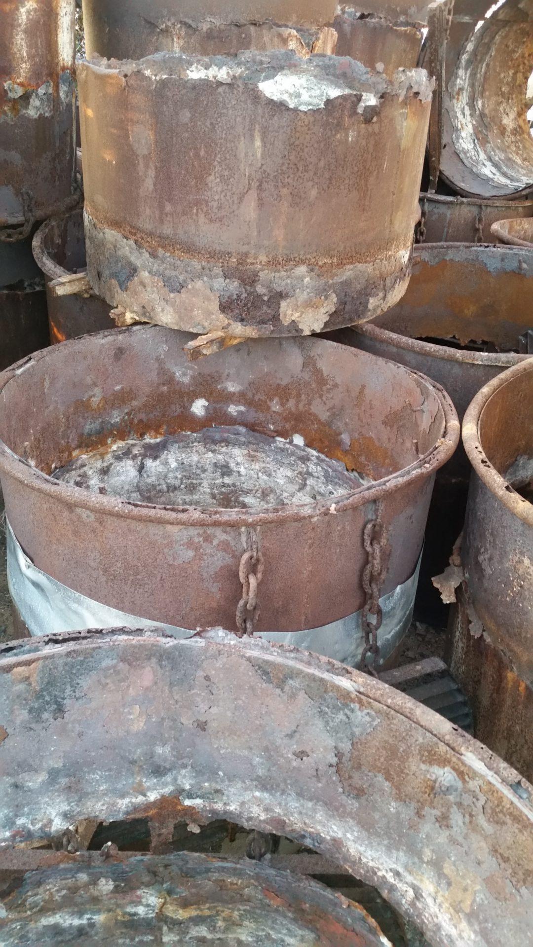 Barrels on the Beach
