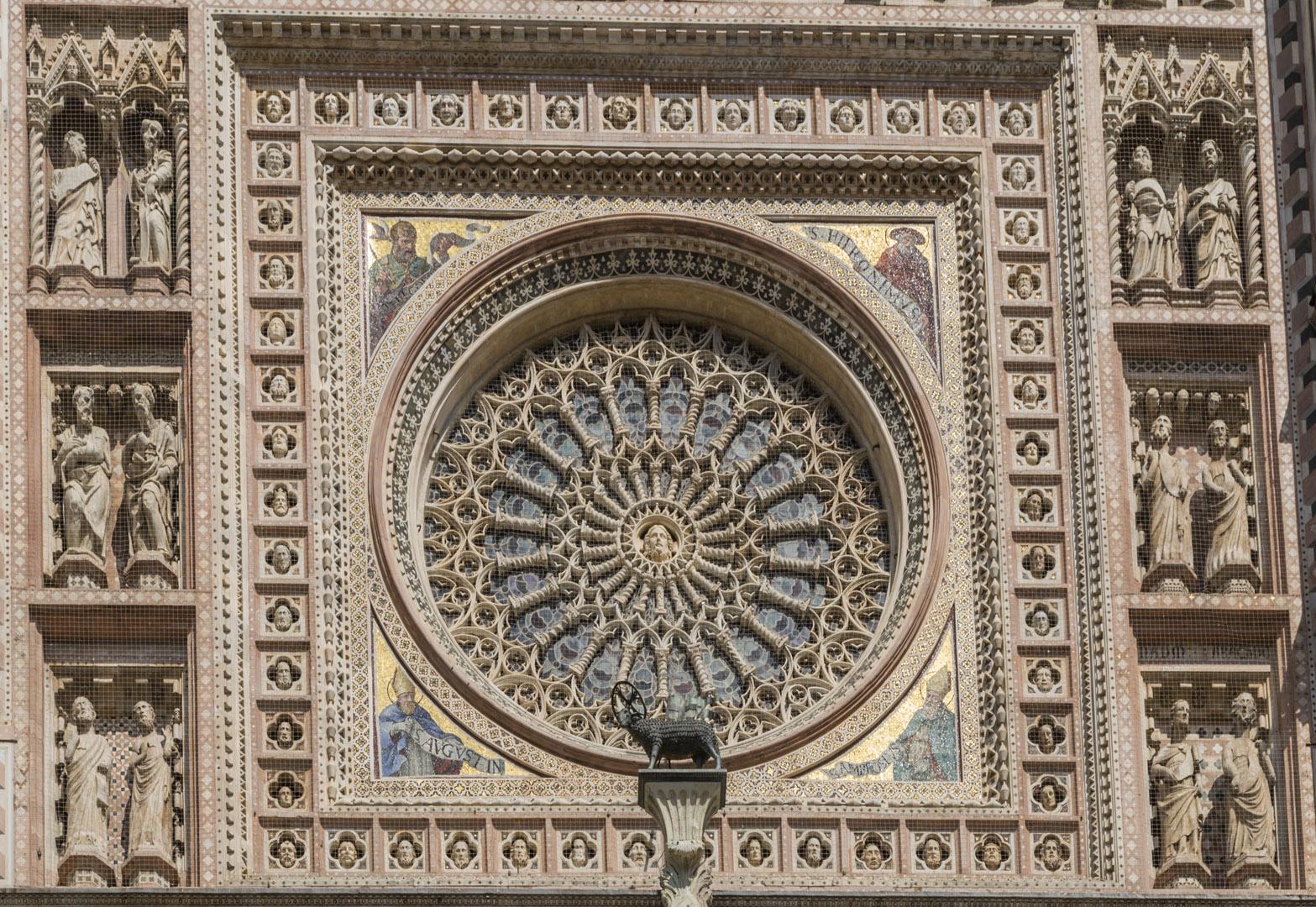 OrvietoDuomo Rose Window