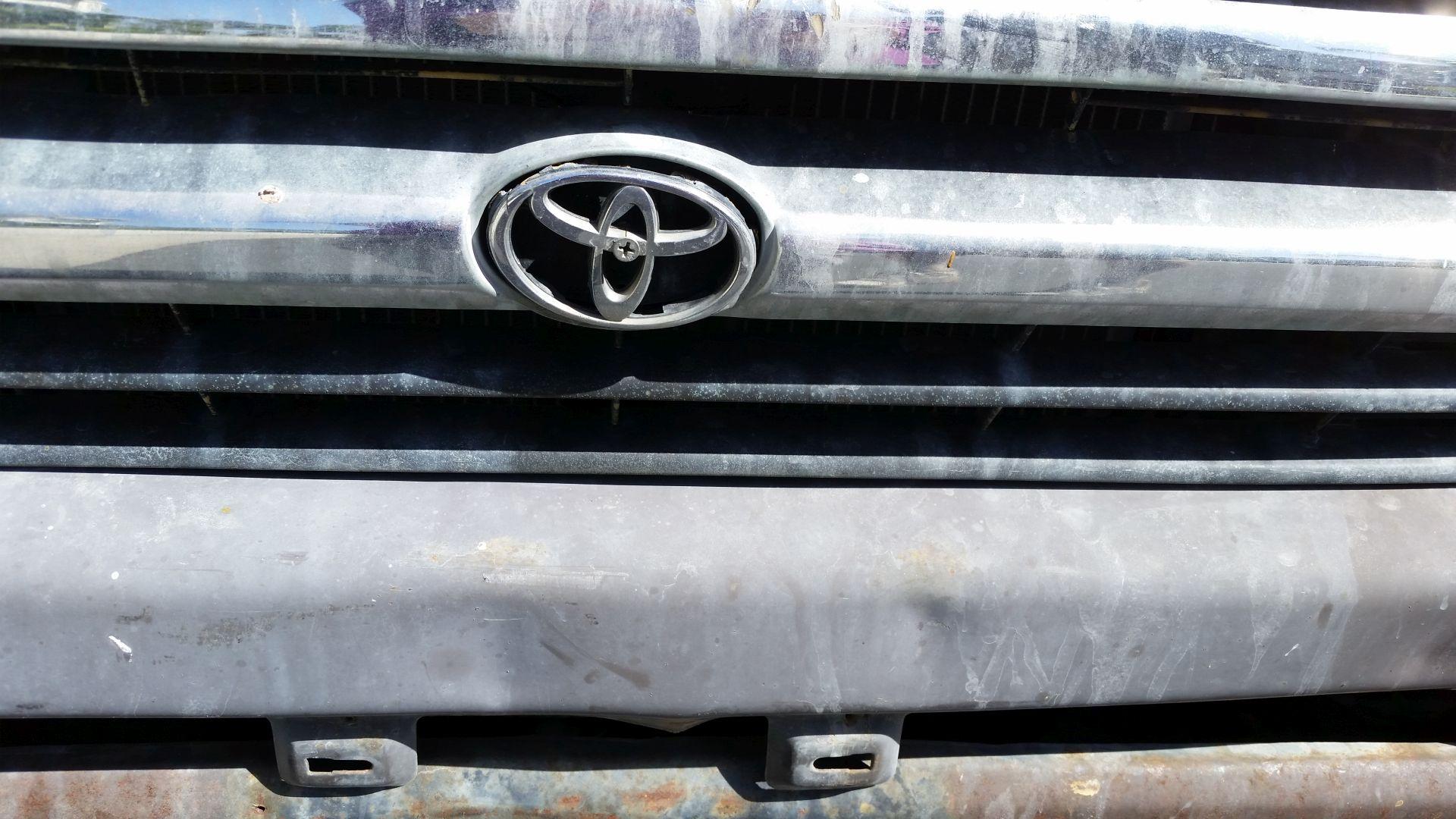 Old Truck Bumper